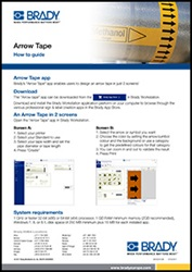 arrow tape guide